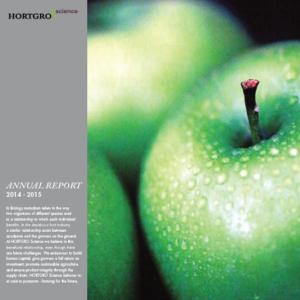 Hortgro Science Annual Report 2014 2015